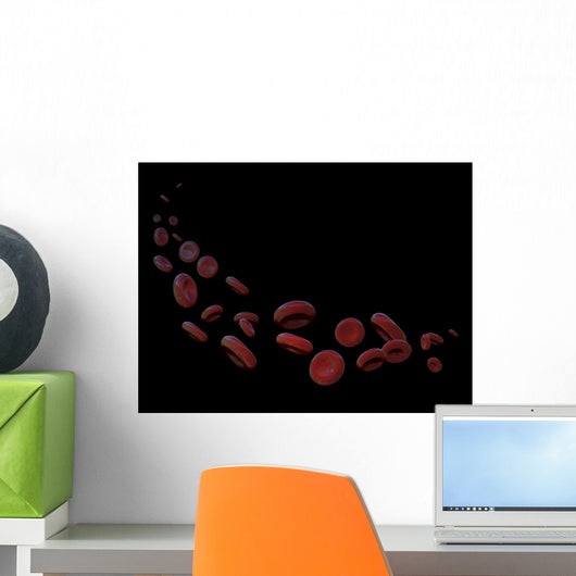 Red Blood Cells Free Wall Decal