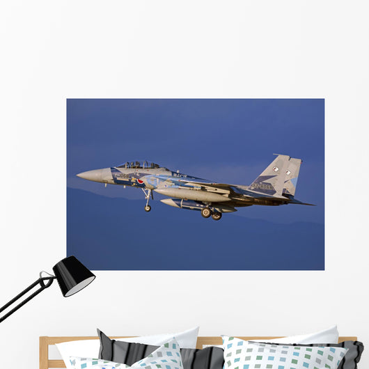 F-15dj Eagle Japan Air Left Side Wall Decal