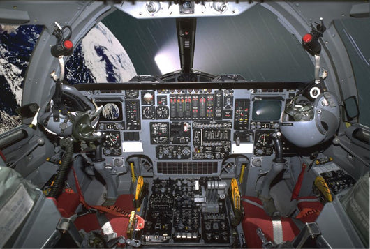 B1-b Lancer Cockpit Wall Decal