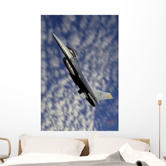 F-16 Fighting Falcon Flying Wall Decal