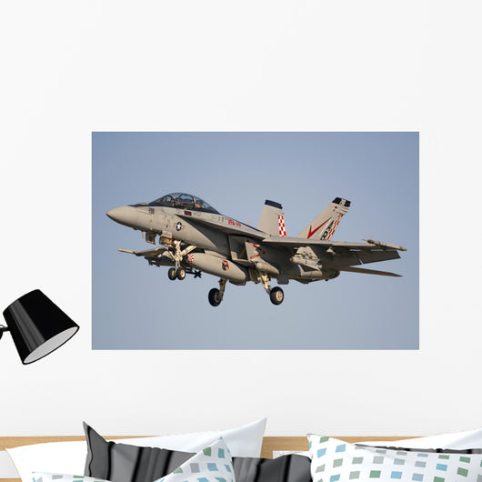 F A-18 Hornet Flying Wall Decal
