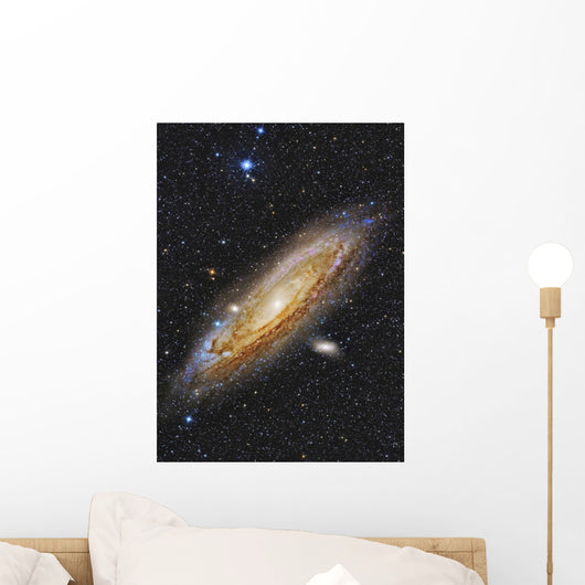 Messier 31 Andromeda Galaxy Vertical Wall Decal