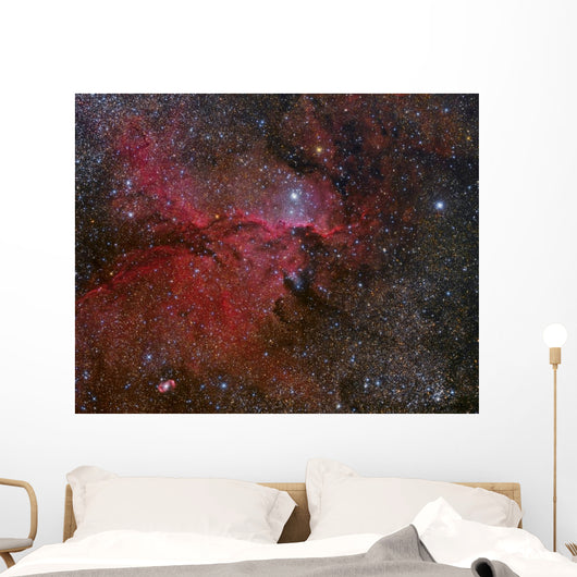 Ngc 6188 Emission Nebula Left Wall Decal