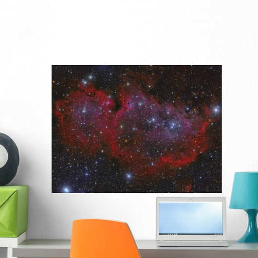 Heart Nebula Constellation Cassiopeia Wall Decal