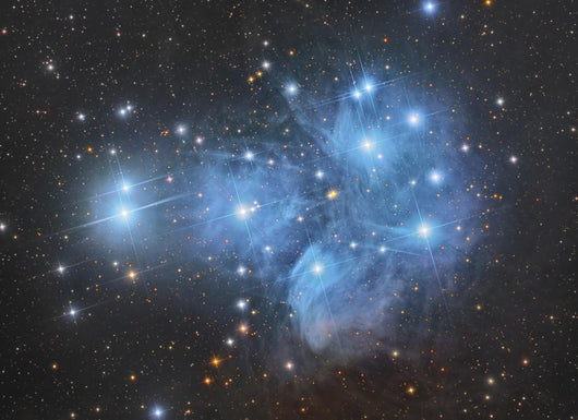 Pleiades Open Star Cluster Wall Decal