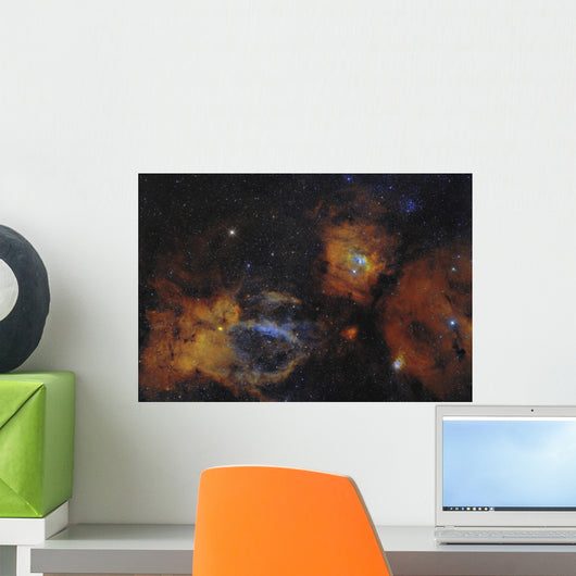 Bubble Nebula and Open Wall Decal