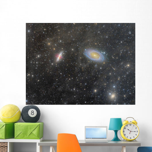 Cigar Galaxy and Bode's Wall Decal