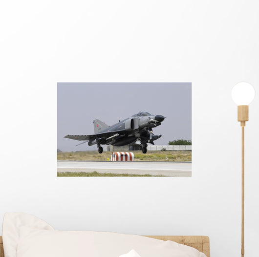 Turkish Air Force F-4e Right Profile Wall Decal