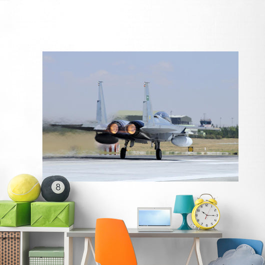 F-15 Eagle Royal Saudi Thruster Wall Decal