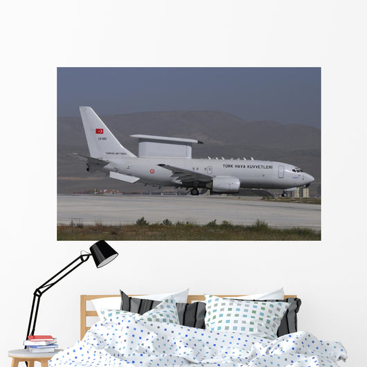 Turkish Air Force Boeing Wall Decal
