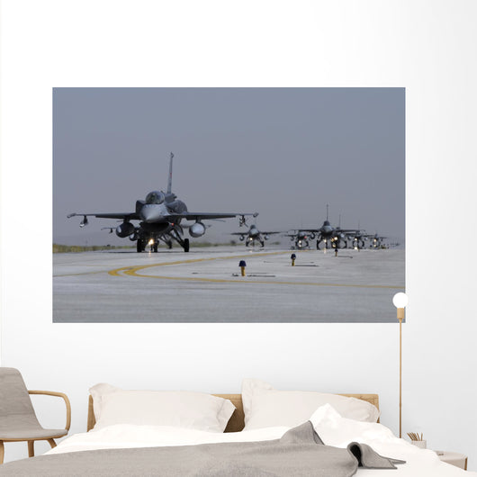 Squadron Turkish Air Force Line-up Wall Decal
