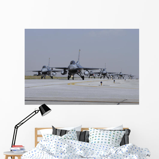 Squadron Turkish Air Force Wall Decal