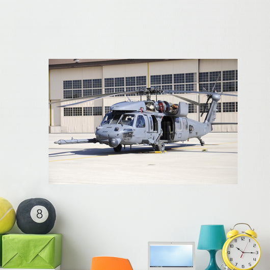 Us Air Force Hh-60g Grounded Wall Decal