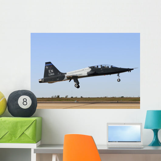 Us Air Force T-38 Taking Off Wall Decal