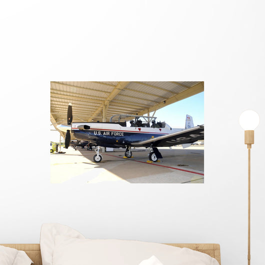 Us Air Force T-6a  Hangar Wall Decal