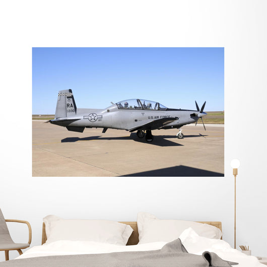 Us Air Force T-6a Wall Decal