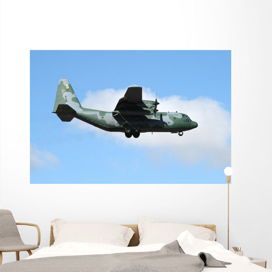 Brazilian Air Force C-130 In-Flight Wall Decal