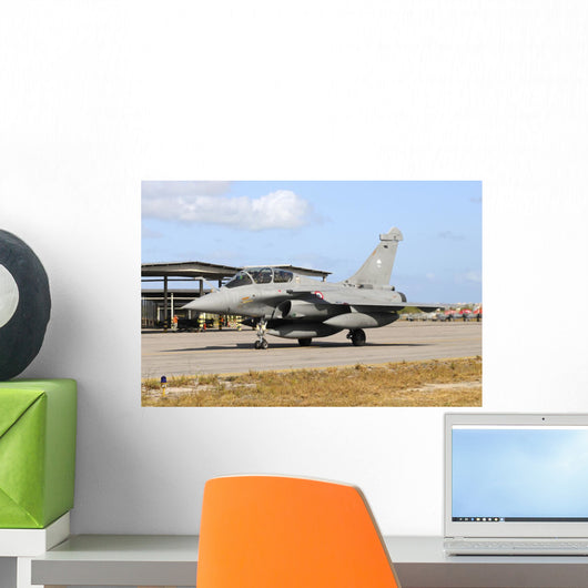French Air Force Rafale Grounded Wall Decal