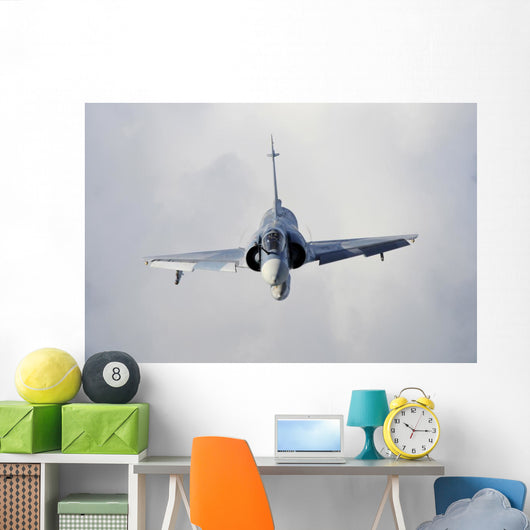 French Air Force Mirage Front Wall Decal