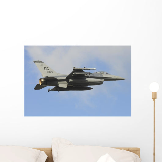 Us Air Force F-16c In-Flight Right Wall Decal