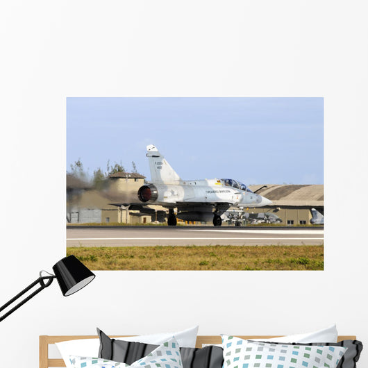 Brazilian Air Force F-2000 Taking Off Wall Decal