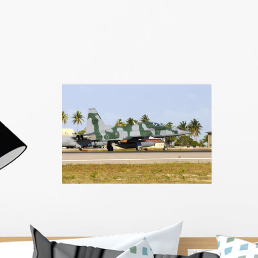 Brazilian Air Force F-5em Grounded Wall Decal