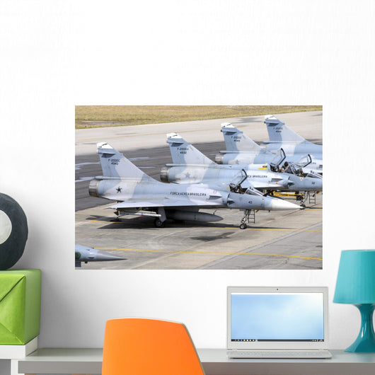 Line-up Brazilian Air Force Line-up Wall Decal