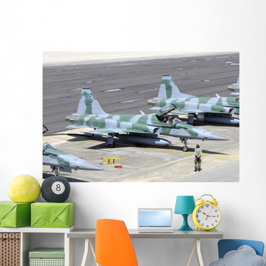 Line-up Brazilian Air Force Wall Decal