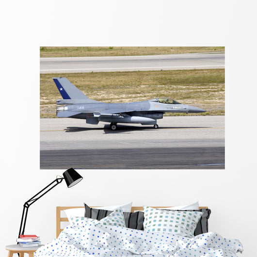 Chilean Air Force F-16a Wall Decal