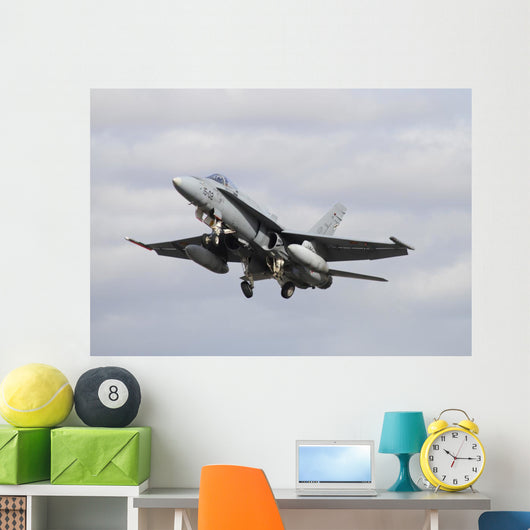 Spanish Air Force Ef-18m Underneath Wall Decal