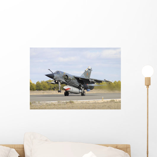 French Air Force Mirage Taking Off Wall Decal