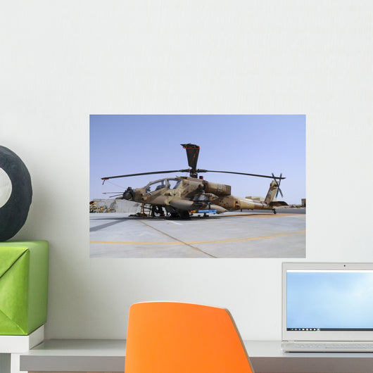 Israeli Air Force Ah-64a Wall Decal
