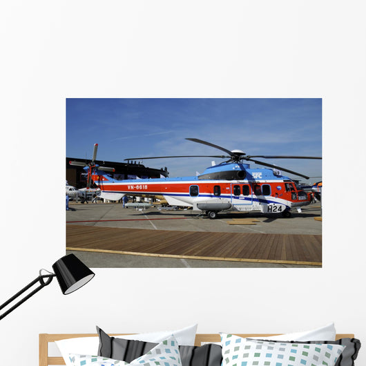 Ec225 Super Puma Le Wall Decal