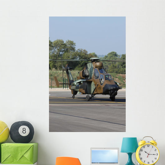 Eurocopter Tigre Attack Helicopter Vertical Wall Decal