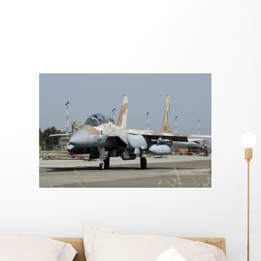 F-15i Ra'am from Israeli Grounded Wall Decal