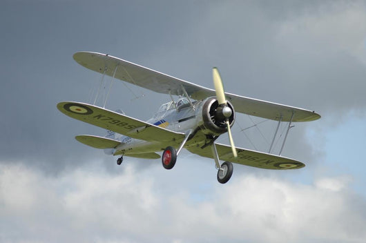 Gloster Gladiator Royal Air Wall Decal