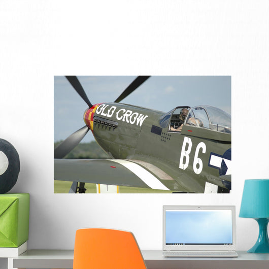 P-51d Mustang United States Wall Decal