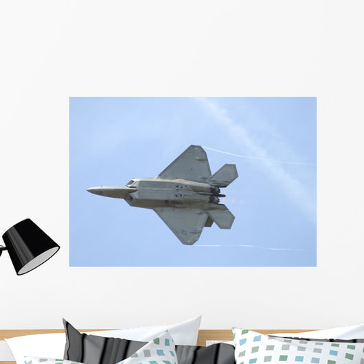 F-22 Raptor Us Air In-Flight Wall Decal