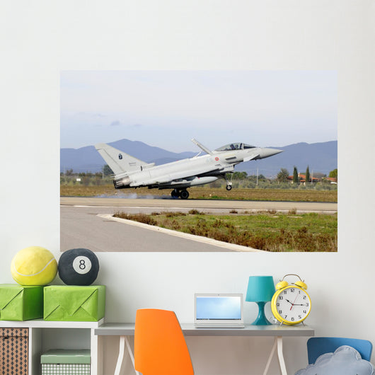 Eurofighter Ef2000 Typhoon Taking Off Wall Decal