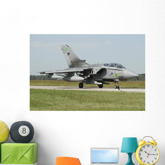 Tornado Gr4 Royal Air Grounded Wall Decal
