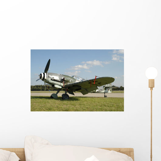 Messerschmitt Bf-109g World War Wall Decal