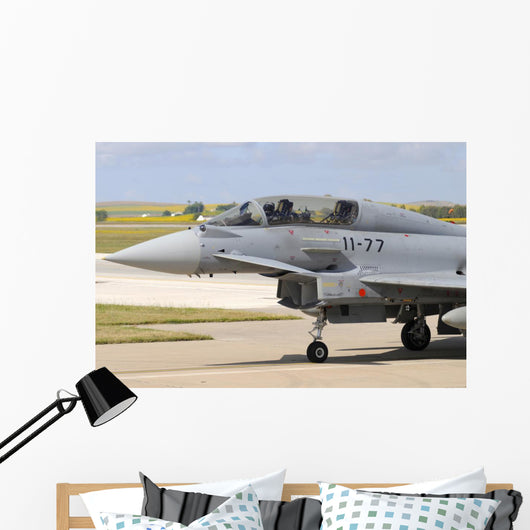 Close-up Nose Cone Eurofighter Wall Decal