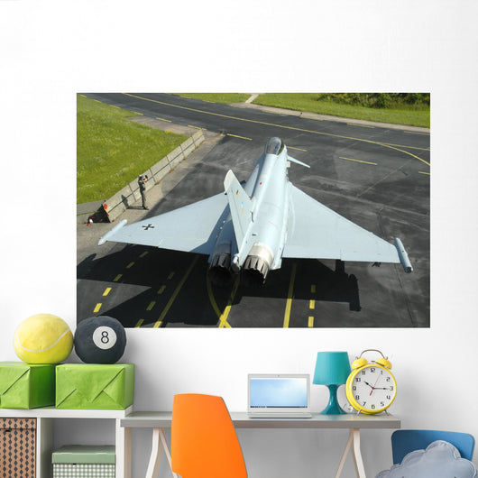 Eurofighter Ef2000 Typhoon Top Wall Decal