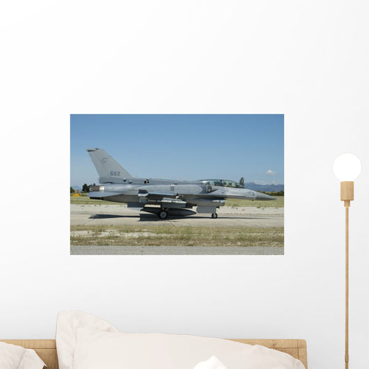 F-16d Falcon from Republic Right Wall Decal