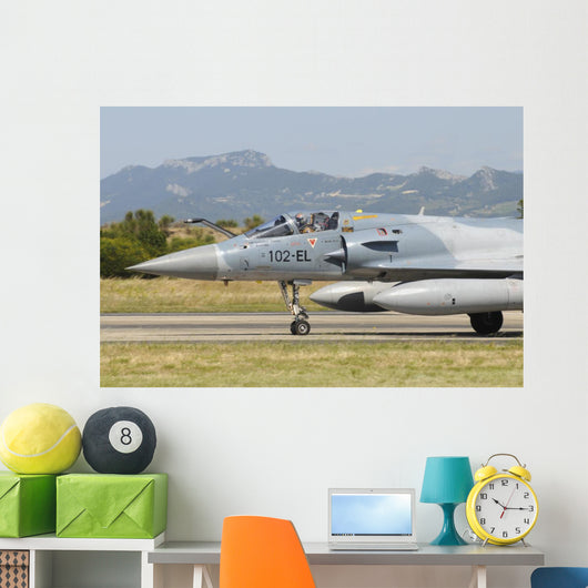Close-up Nose Cone Mirage Wall Decal