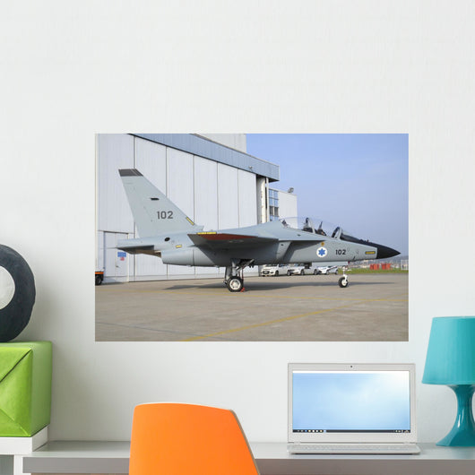 First M-346i Lavi Trainer Grounded Wall Decal