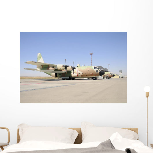 Israeli Air Force C-130 Grounded Wall Decal