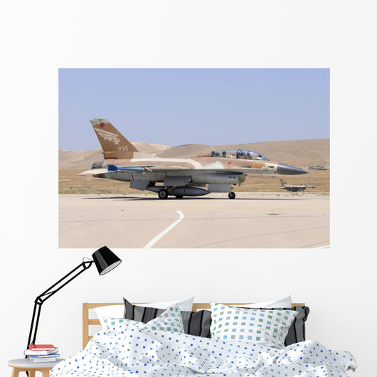 Two Israeli Air Force Grounded Wall Decal