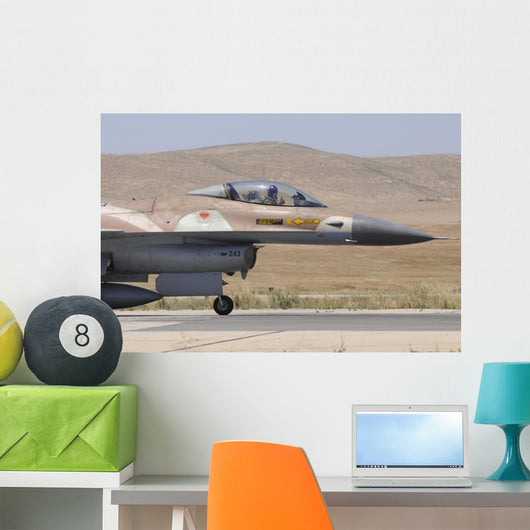 Israeli Air Force F-16a Right Wall Decal