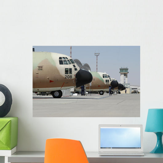 Israeli Air Force C-130 Wall Decal